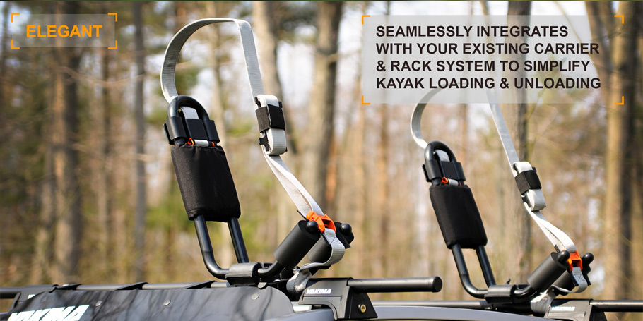 Premium Kayak Transportation & Storage System